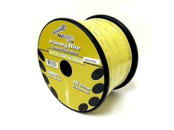 500#x27; Feet 16 Gauge Yellow Pet Fence Stranded Wire Dog In Ground Fence Burial $29.95