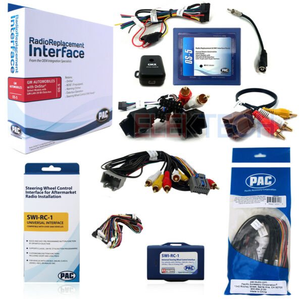 GM Radio Replacement Interface Rear System Retention & Steering Wheel Control