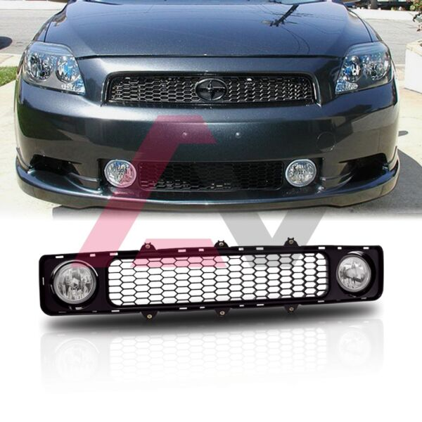 05 10 For Scion tC Clear Lens Pair Bumper Grill Fog Light Lamp OE Replacement $56.38