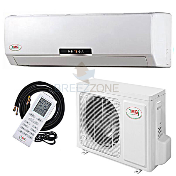 36000 BTU 3 Ton 16 SEER Inverter Ductless Mini Split AC Heat Pump 36000 25'Kit