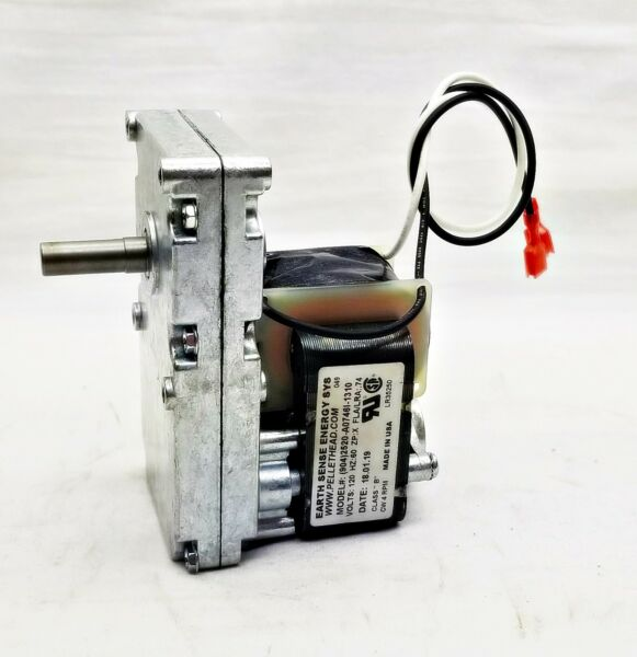 Harman Pellet Stove Auger Feed Motor 3-20-60906 4 RPM CW Accentra Insert - 1 Yr