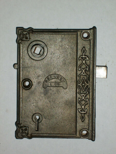 Antique Norwalk & Co. Rim Lock