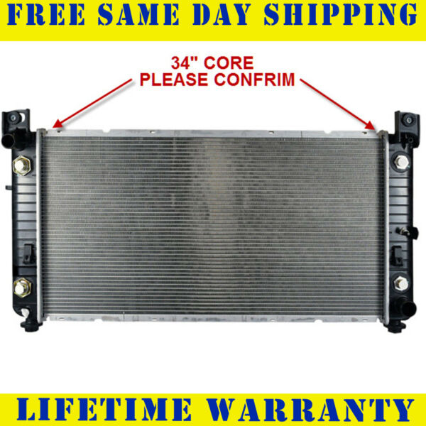 Radiator For Chevy Silverado 1500 2500 HD 4.3 4.8 5.3 6.0 2370