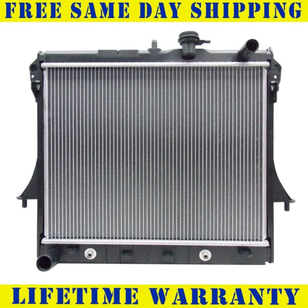 Radiator For 2006-2012 Hummer H3 H3T GMC Canyon Chevy Colorado 3.5L 3.7L 5.3L