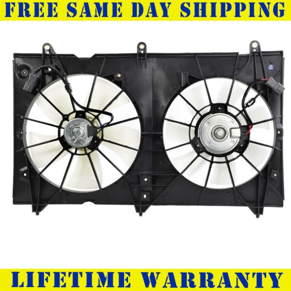 Radiator And Condenser Fan For Honda Accord  HO3115121