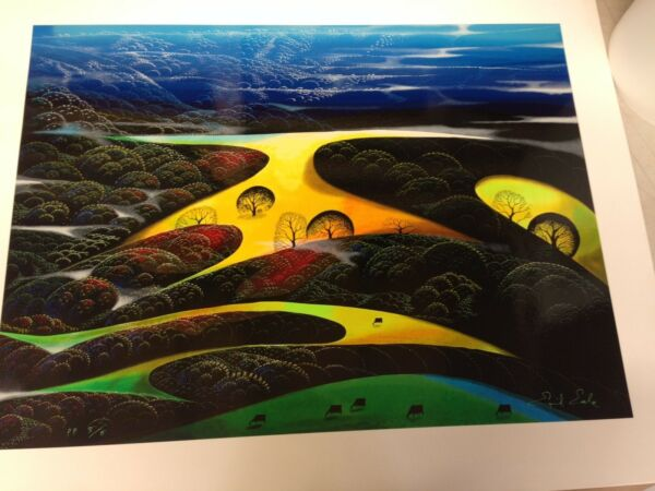 Eyvind Earle    Rare Printers Proof  # 4  5