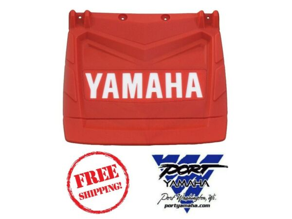 YAMAHA SNOWMOBILE RED SNOW FLAP 16