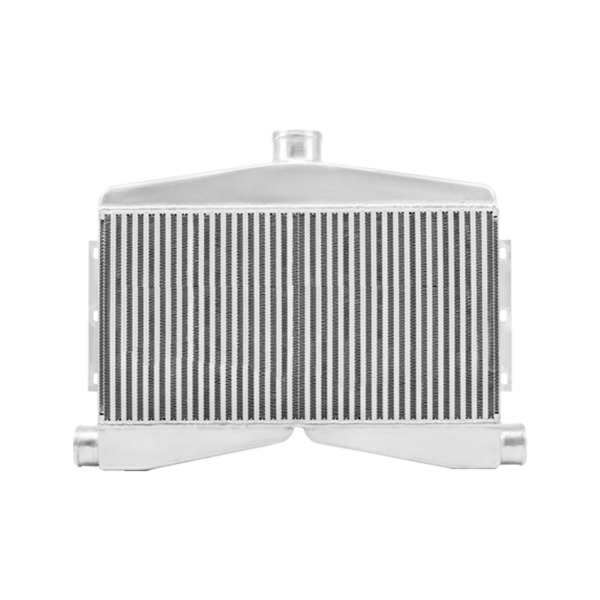 CXRacing 2-In-1-Out Twin Turbo Bar & Plate Intercooler 3.5