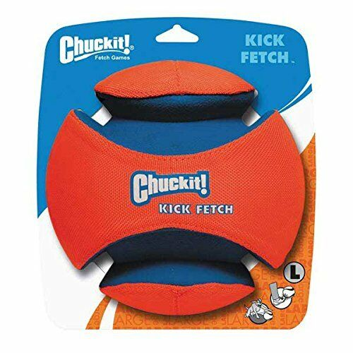 Chuckit Kick Fetch Toy Ball for Dogs Large  New Free Shipping