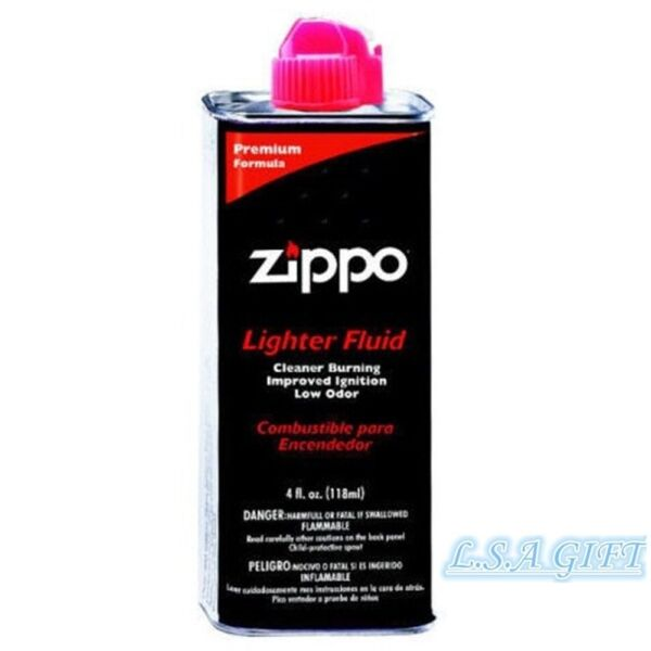 New Zippo Fluid 4oz Fuel For All Zippo Lighters