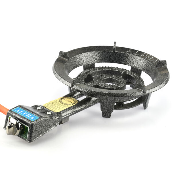 Portable Propane Gas Burner  Outdoor Stove Camping Tailgating BBQ