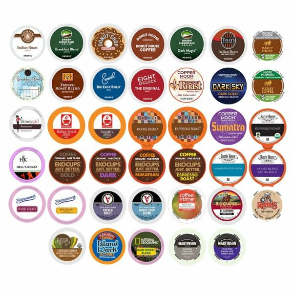 Coffee Single Serve cups For Keurig K cups Brewer Variety Pack Sampler40-count