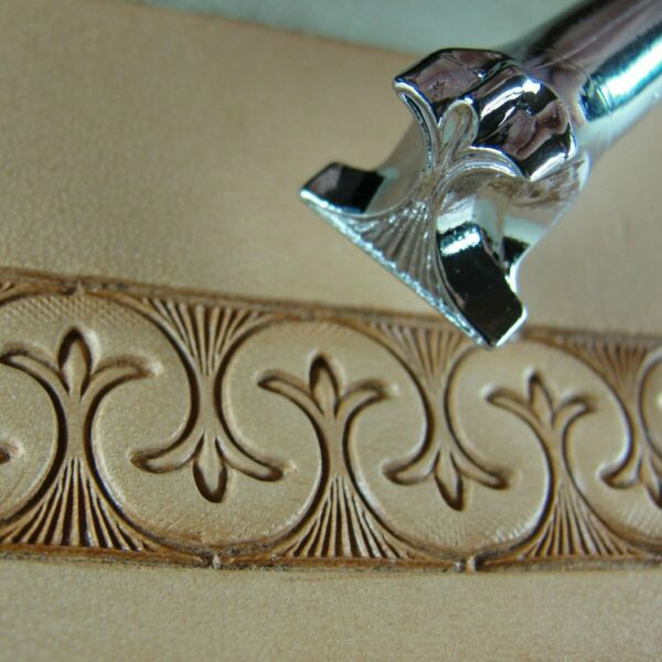 Pro Crafters Series - Border Saddle Stamp (Leather Stamping Tool)