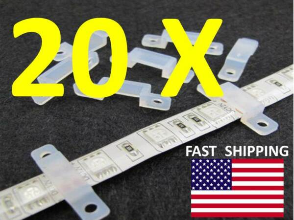 MOUNTING Clip LED Hardware Part fits RGB or Solid Color L.E.D. SMD 3528