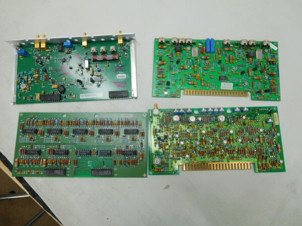 HP AGILENT 859xE Card Cage boards pick 1 of 5 log amp 3rd converter bw amp contr