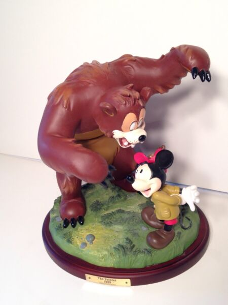 1999 Disneyana Signed And Numbered Figure The Pointer 1939 5381500 Bear Mickey