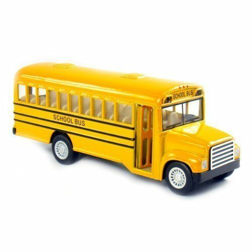 5quot; METAL DIE CAST BIG AMERICAN SCHOOL BUS KIDS NOVELTY TOY CHRISTMAS GIFT