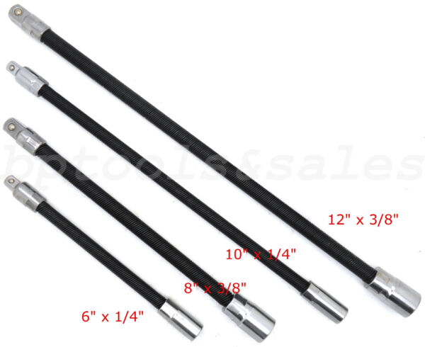 Flexible Extension Bars Long Socket 6