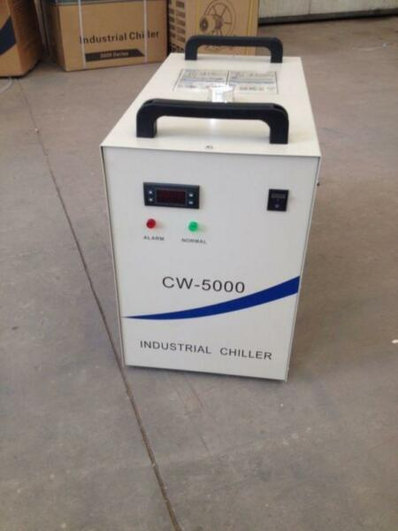 Industrial Water Chiller CW-5000 for Single 80W CO2 Laser Tube Cooling 220V