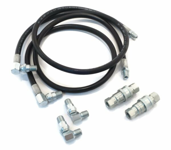 HYDRAULIC HOSE & FITTING REPLACEMENT KIT for E-47 E47 Meyer Diamond Blade Pump