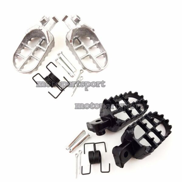 Pit Dirt Bike Aluminium Footrest Foot Pegs For Yamaha PW50 PW80 TW200 Motorcycle $10.57