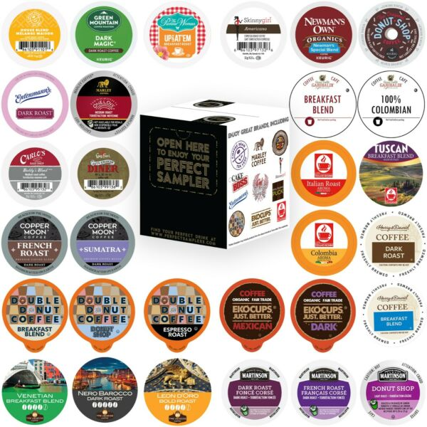 Coffee Single serve cups For Keurig K cups Brewer Variety Pack Sampler30 count