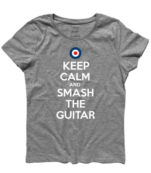 Women#x27;s Keep Calm And Smash The Guitar Pete Townshend Who Tommy $24.02