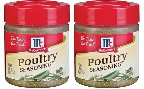McCormick Specialty Herbs And Spices Poultry Seasoning 2 Bottle Pack