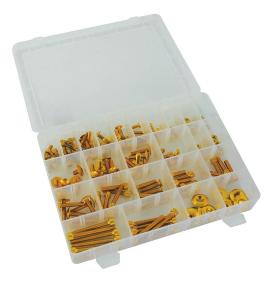 UNIVERSAL SCREW SET KIT 150PCS GOLD