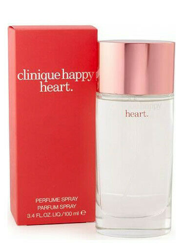 Clinique Happy Heart Perfume for Women 3.4 oz EDP Spray New in Sealed Box