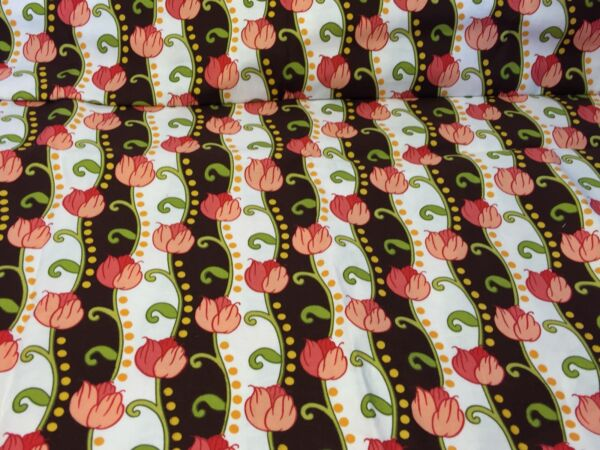 Hancock Fabric Floral Design Fabric 1 Yard Quilting Crafts Sewing