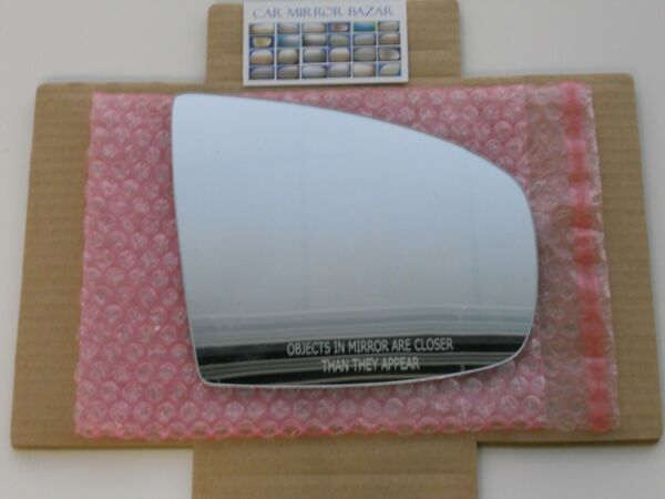 782R Replacement Mirror Glass for 07-13 BMW X5 08-14 BMW X6 Passenger Side Right
