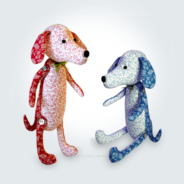 Dainty Dachshund Dog Sewing PATTERN Cute 12quot; EASY Independent Design Soft Toy GBP 9.99