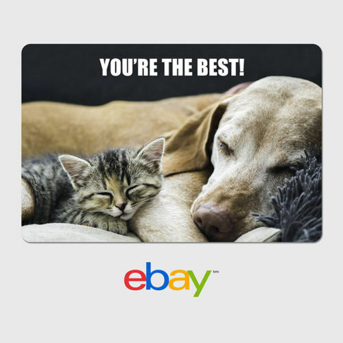 eBay Digital Gift Card - Thank You Designs - Email Delivery