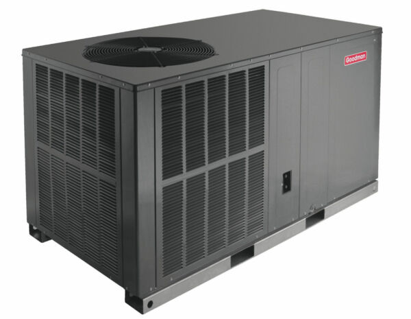 4 ton Goodman 14 seer heat pump R-410A package unit GPH1448H41