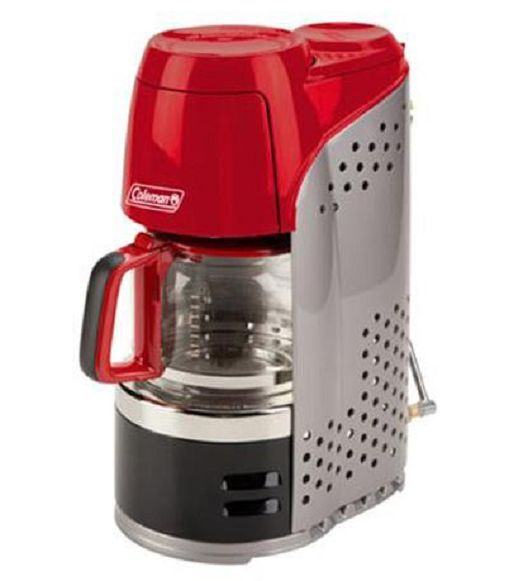 Camping Coffee Maker Pot Portable Outdoor Hiking Propane Coffeemaker 10 Cups New