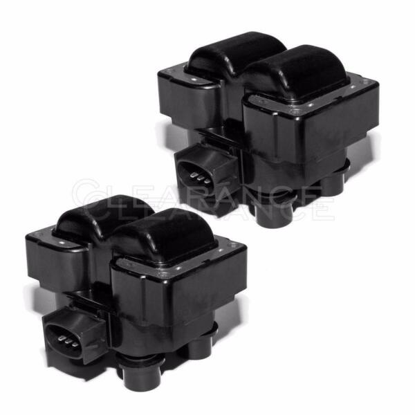 Ignition Coil Packs Pair Set NEW for Ford Lincoln Mercury 4.6L 5.0L V8 FD487T