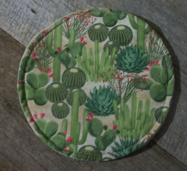 Cactus Barrel Flowers Tortilla Pita Flatbread Warmer 10