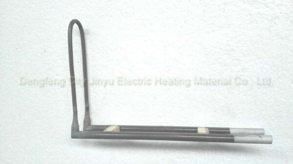 10pcs Lu Shape Laboratory Electric Mosi2 Heating Elements for high Temp furnace