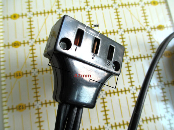 KENMORE cl.158. older models Sewing Machines Double Lead Power Cord 3 Prongs $19.95