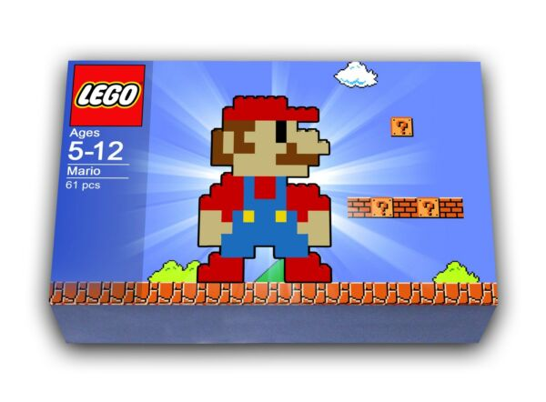LEGO Mario Building Set - WITH Instructions to Build