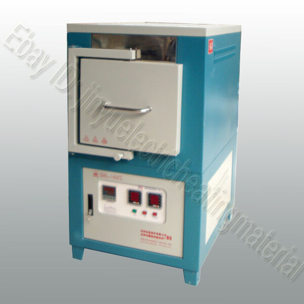 1200℃ Box Muffle Chamber Electric Heating Furnace New Benchtop Digital Lab Oven