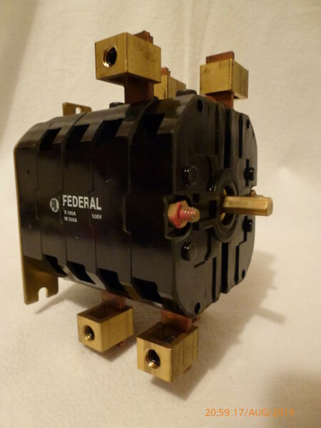 Federal Replacement Switch Interior 21000836 for WR WC series 100 350A 500V New