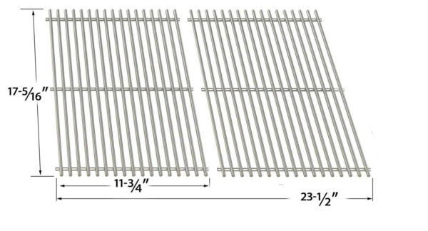 Stainless Cooking Grid For Broil King 96824 96827 96844 96847 96894 Models
