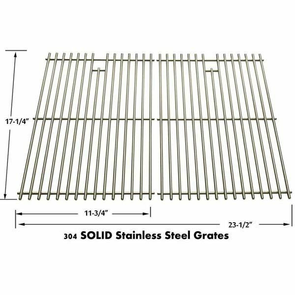 Replacement Weber 89869 Stainless Steel Cooking Grates Set of 2