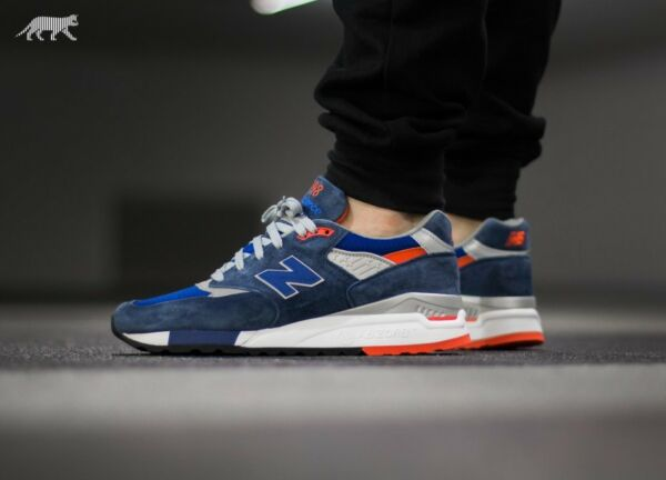 NEW BALANCE NB 998 CONNOISSEUR SKI M998CSAL MADE IN USA CASUAL RUNNING SHOES
