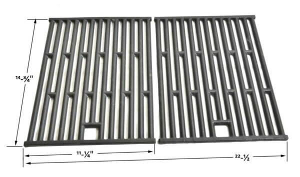 Genesis Silver A and Spirit 5002240000 3711001 3711179 Cast Grates