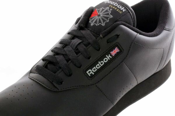 Reebok Athletic Classic Princess Black Womens Shoes Sneakers Sizes