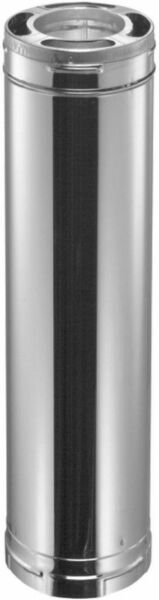 DuraVent Stainless Steel Triple Wall Chimney Wood Stove Pipe Insulated Liner