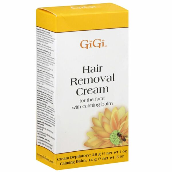 GiGi Hair Removal Cream with Calming Balm For Bikini - Legs 1 ea